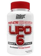 NUTREX Lipo 6 120 капс.