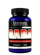 Ultimate Nutrition GABA 750 мг, 90 капс.
