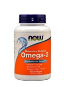 NOW Omega-3  1000 mg, 100 капс.