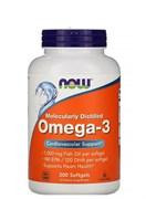 NOW Omega-3  1000 mg, 200 капс.