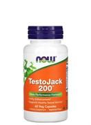 NOW Testo Jack 200, 60 капс.